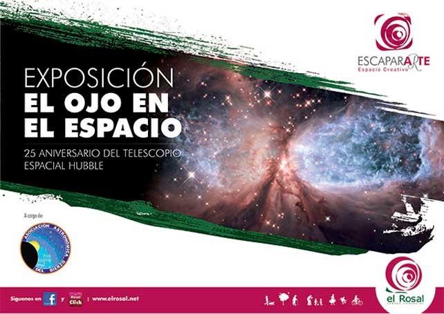 1 de mayo al 30 de junio en CC El Rosal: Exposición El Ojo en el Espacio 1