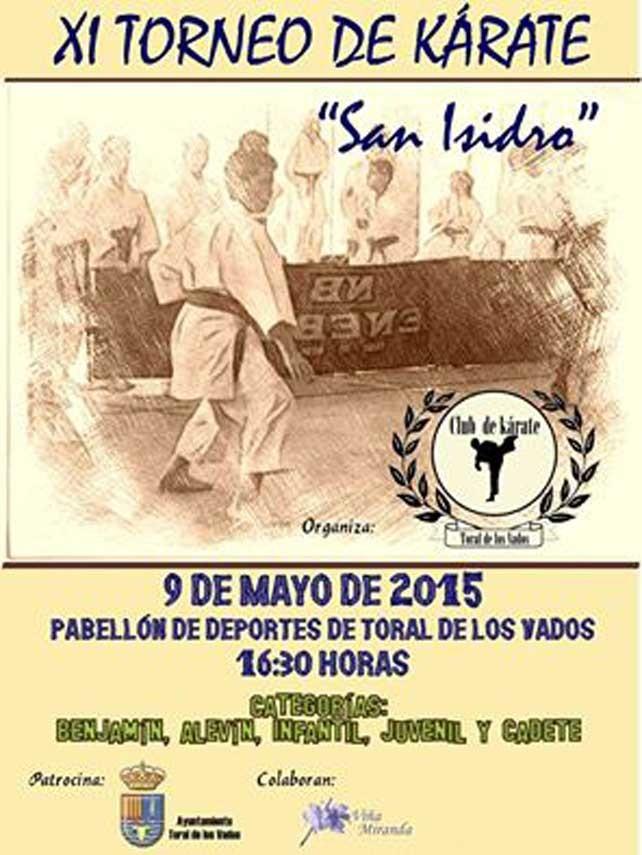 Torneo de Kárate en Toral de los Vados. Sábado 9 de mayo 1