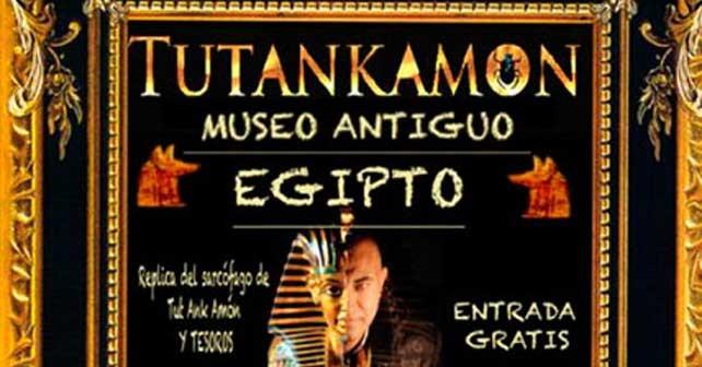 Tutankhamon en el CC El Rosal hasta el 30 de mayo 1