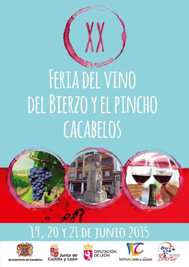 XX Feria del vino del Bierzo y el pincho en Cacabelos. 19, 20 y 21 de junio 8