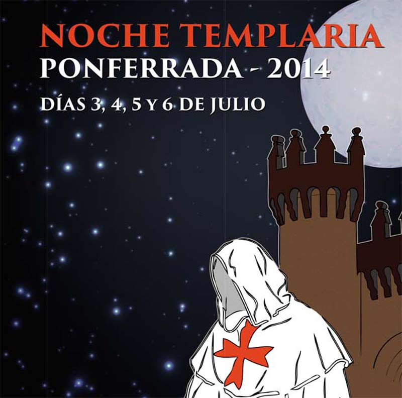 Noche templaria Ponferrada 2015 1