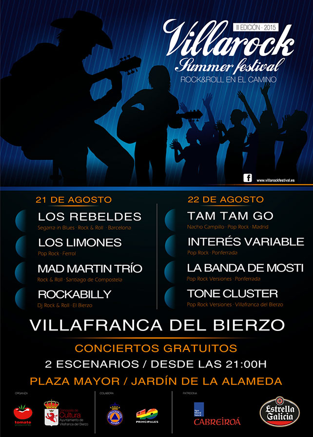 Villarock 2015, Villafranca vibra este fin de semana 1