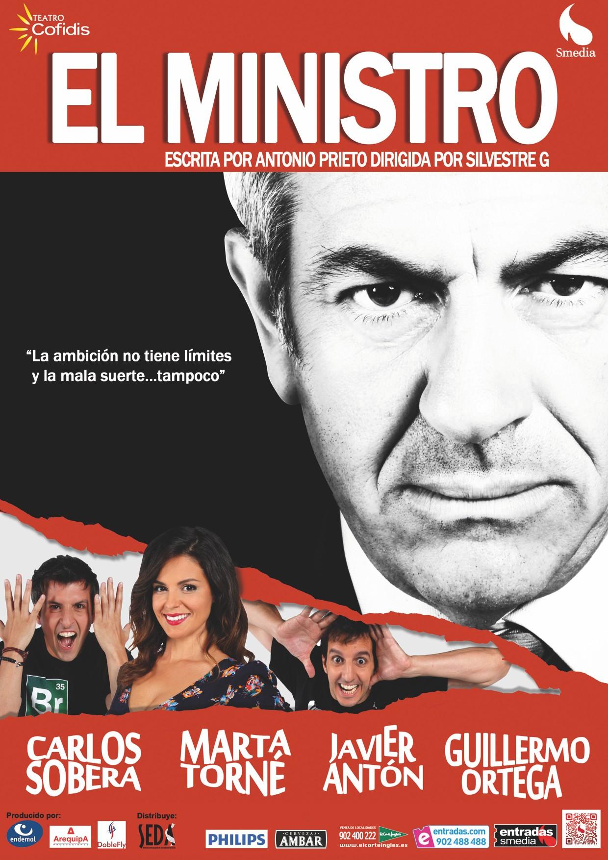 Teatro: El ministro de Antonio Prieto 1