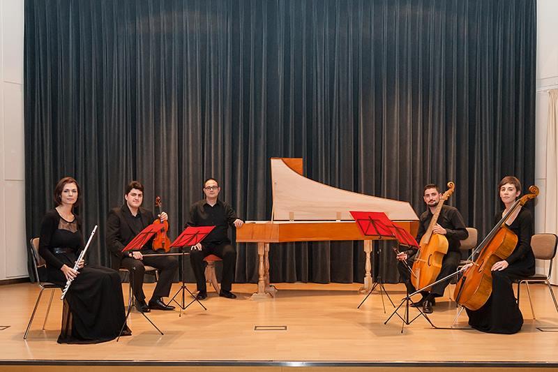 Un cuarteto del Ensemble Barroco de Ponferrada en el festival Corteza de encina 1