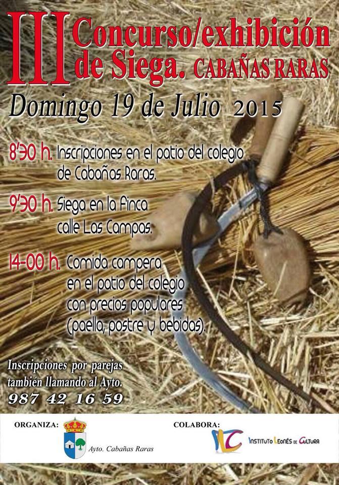Concurso/ exhibición de siega en Cabañas Raras 6