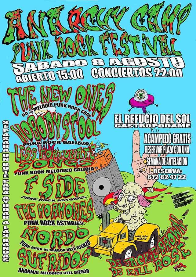 Anarchy Camp PunK Rock Festival en Castropodame 1
