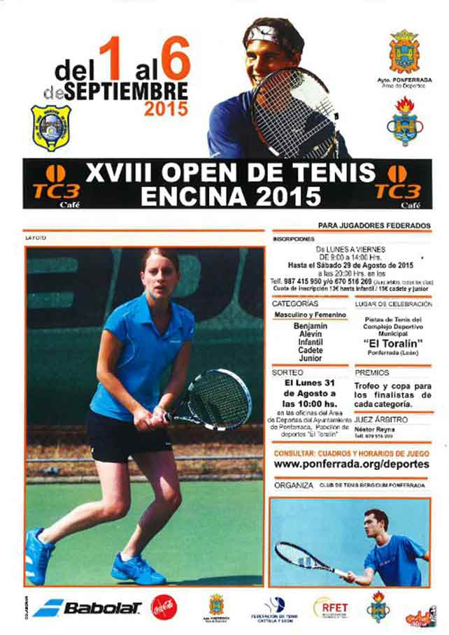 XVIII Open de Tenis Encina 2015 1