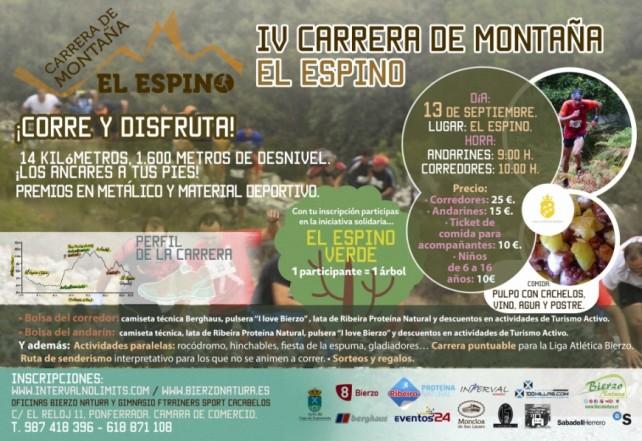 IV Carrera de montaña El Espino 1