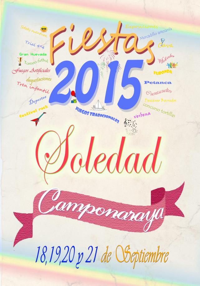 Fiestas de la Soledad 2015 en Camponaraya. Programa oficial 8