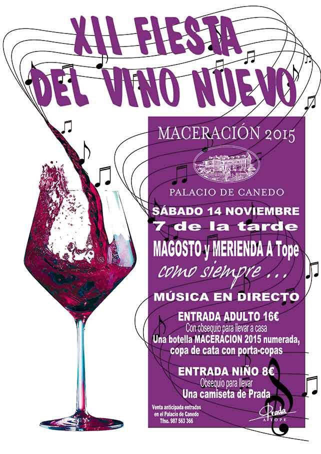 XII Fiesta del vino nuevo en el Palacio de Canedo 1
