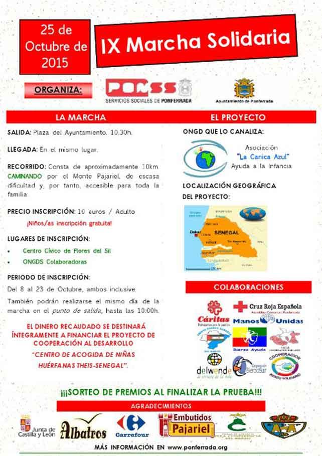 Marcha Solidaria 2015 Ponferrada 1
