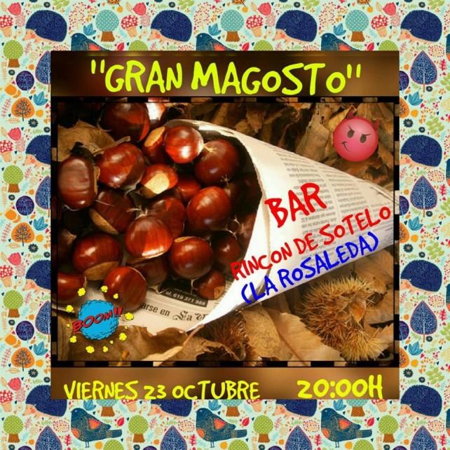 23 de octubre: Magosto en el bar Rincón de Sotelo 1