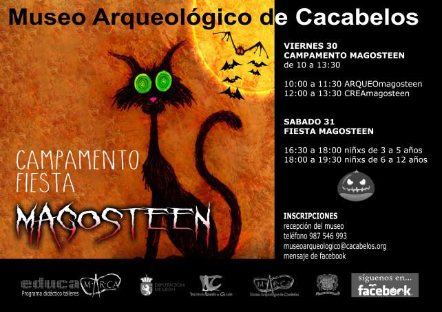 Llega al M.AR.CA de Cacabelos: Magosteen, la fusión del magosto y halloween 1