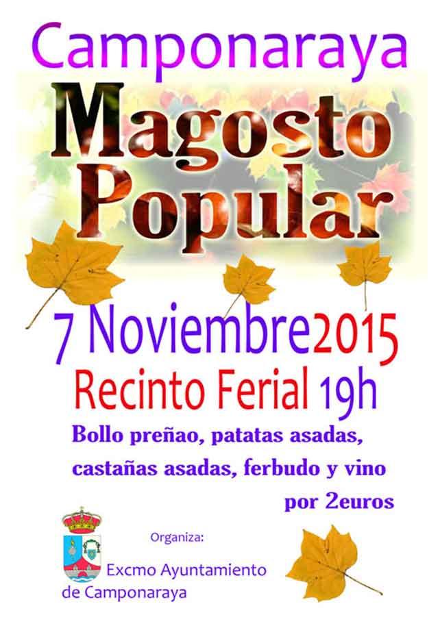 7 de Noviembre, Magosto popular en Camponaraya 1