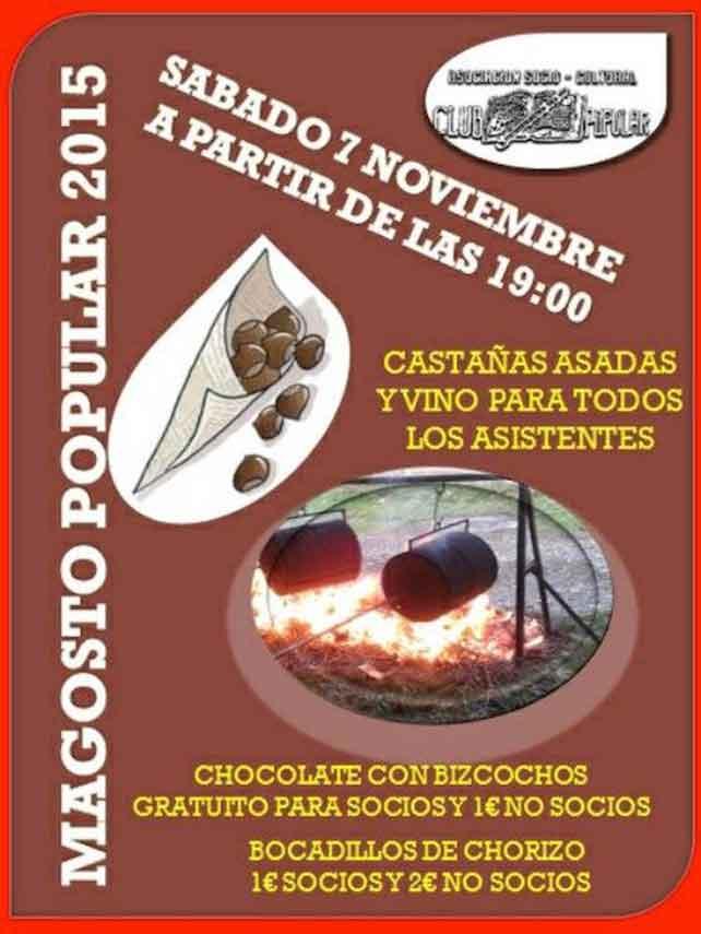 7 de noviembre, magosto en Castropodame 1