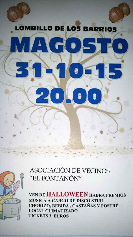 Sábado 31 de octubre, Magosto en Lombillo de los Barrios 7