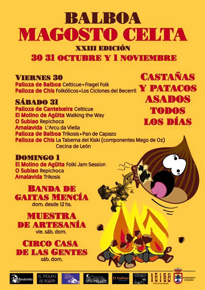 XXIII Magosto Celta en Balboa. Castañas, patacas y música. 30 y 31 de octubre y 1 de noviembre 6