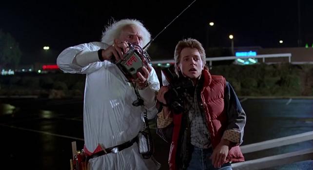 ¡Bienvenido Marty McFly! 1