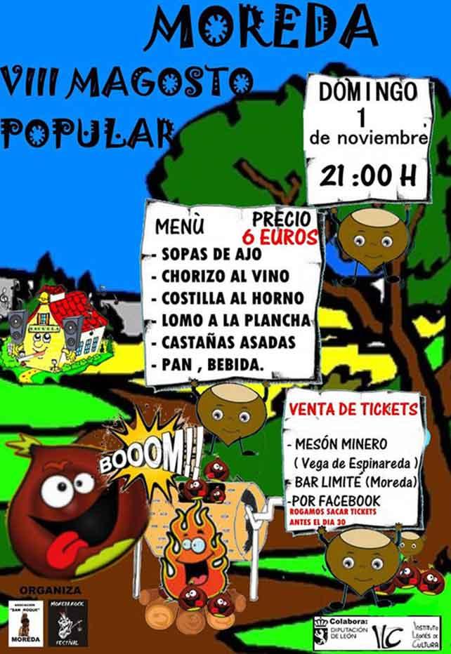 1 de noviembre, magosto en Moreda 5