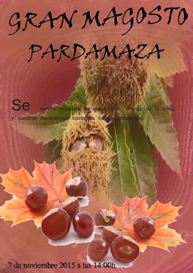 Magosto en Pardamaza. 7 de noviembre 1