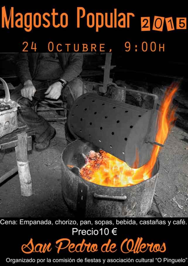 24 de octubre, magosto en San Pedro de Olleros 1