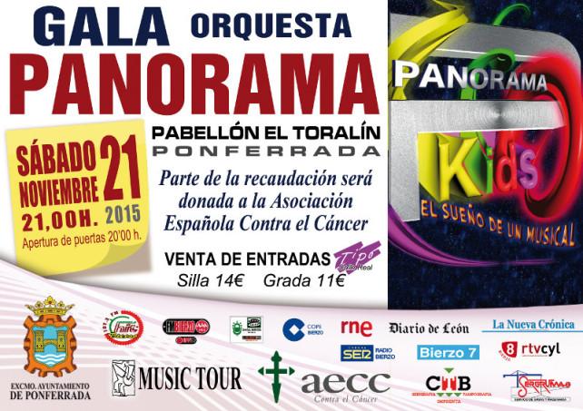 Panorama Kids, Gala benéfica a favor de la Asociación Española Contra el Cáncer 2015 1