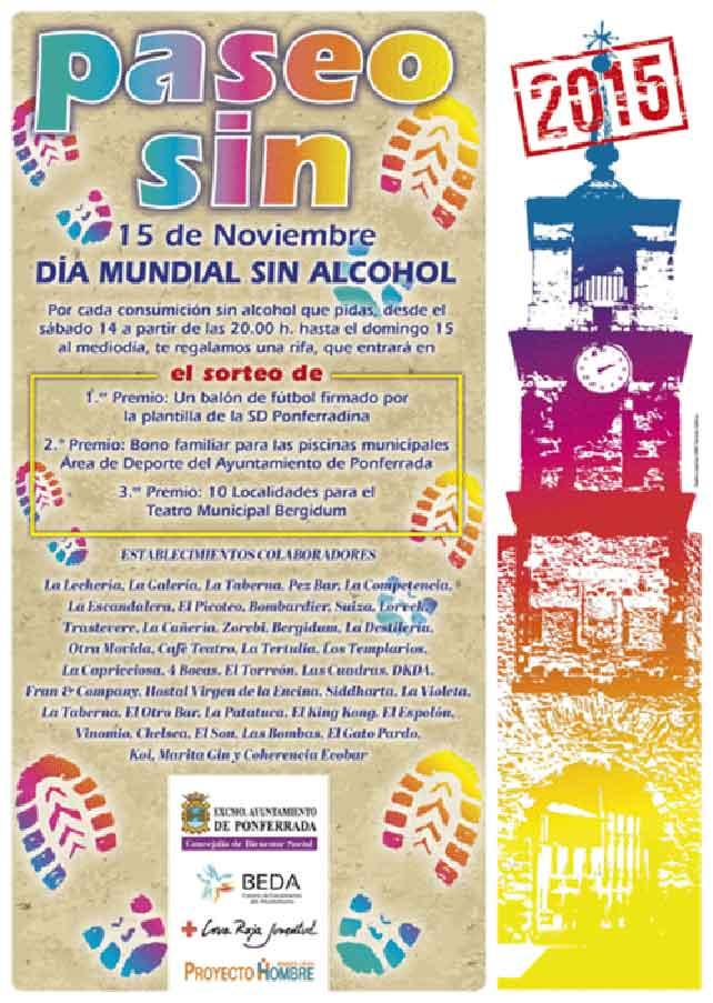 Sábado 14 y domingo 15, date un 'Paseo sin alcohol 1