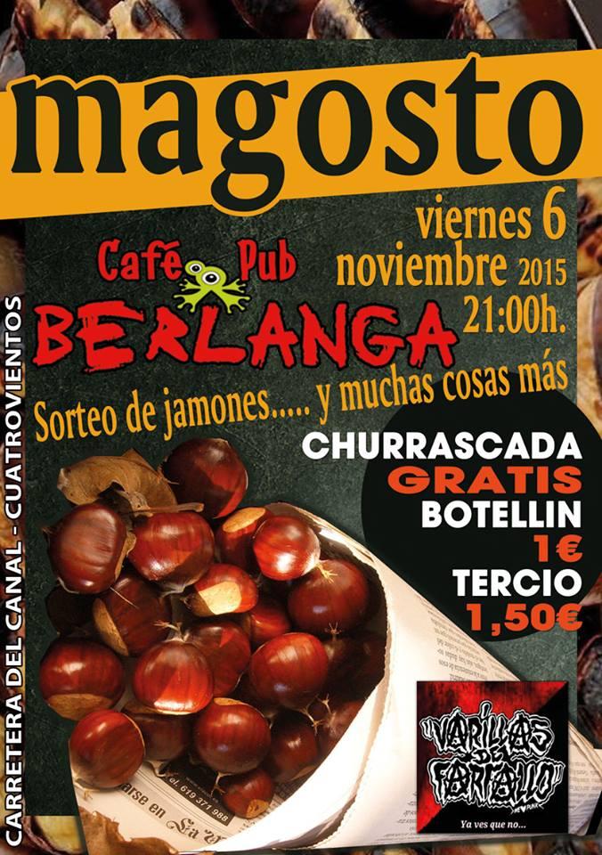 6 de noviembre, magosto en Bar Berlanga de Cuatrovientos 1