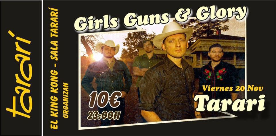 El country de Girls Guns & Glory inundará este viernes el Tararí 1