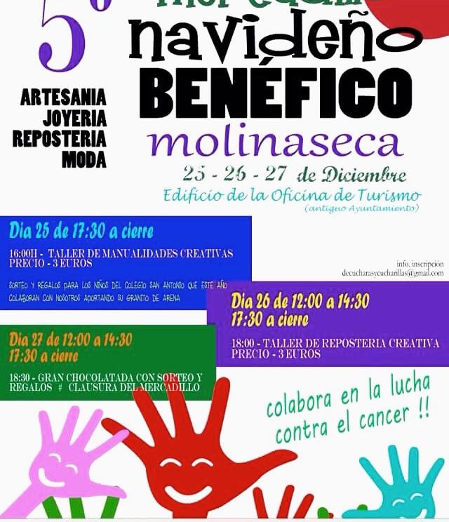 5ª edición del mercadillo navideño de Molinaseca 1