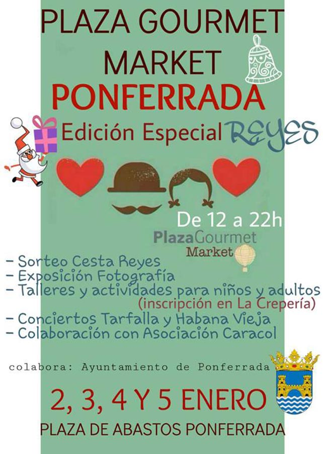Plaza Gourmet Market especial edición Reyes 1