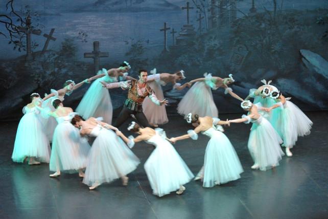 El Ballet de Moscú ofrece en el Bergidum: Giselle 1