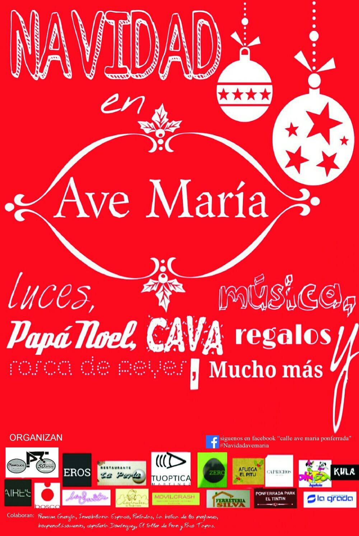 Navidad diferente en la Calle Ave María de Ponferrada 1