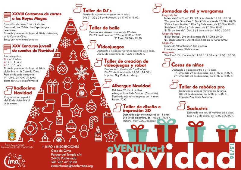 Actividades de Navidad en la Ciudad Mágica CIMA 1