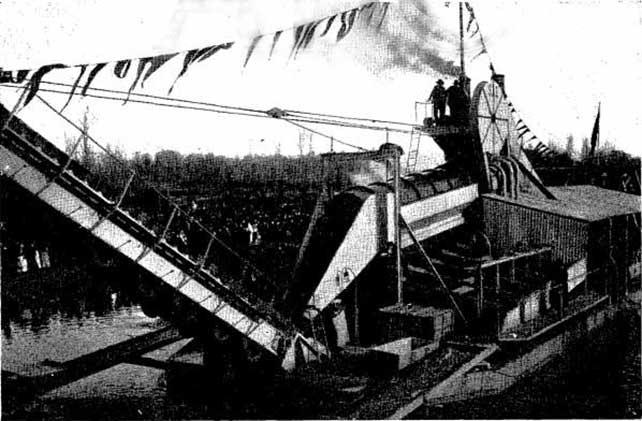 La 'Draga Sil', el barco que recorríó los ríos del Bierzo en busca de oro 2