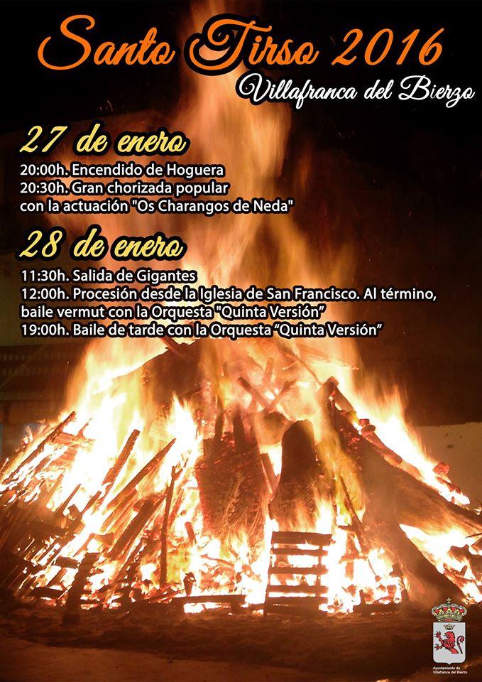 Fiestas de Santo Tirso en Villafranca del Bierzo 1