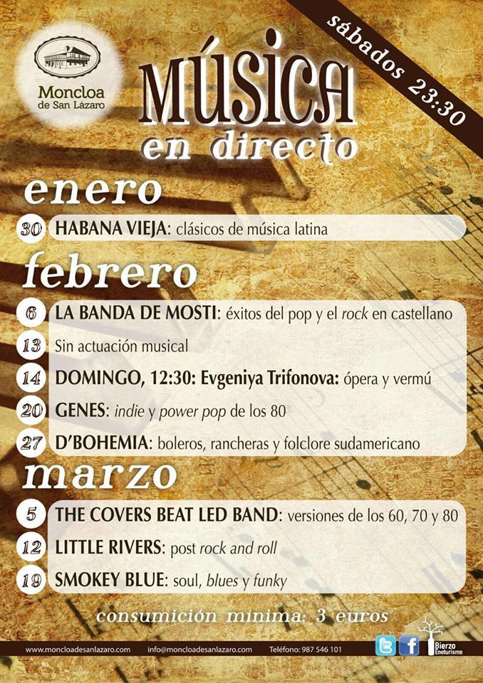 La Moncloa presenta su programa de música en directo hasta marzo de 2016 1