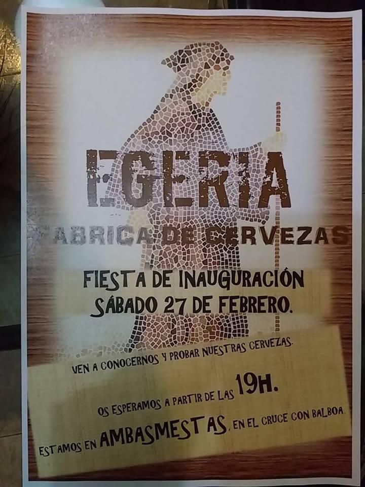 Fiesta inauguración fabrica de cervezas
