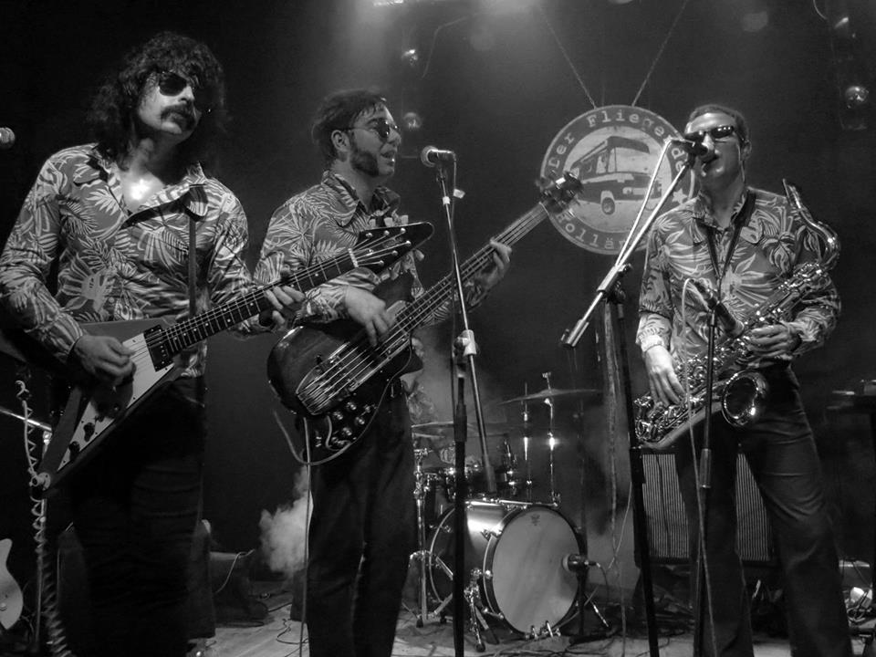 El mejor Reggae con Los Granadians del espacio exterior. 14 de mayo en Ponferrada 1