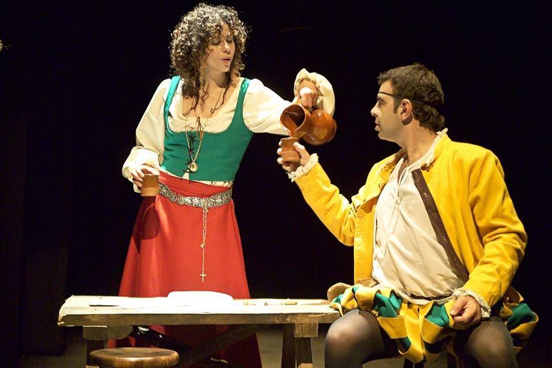 'La pícara Justina' en el Teatro de Cubillos del Sil 2