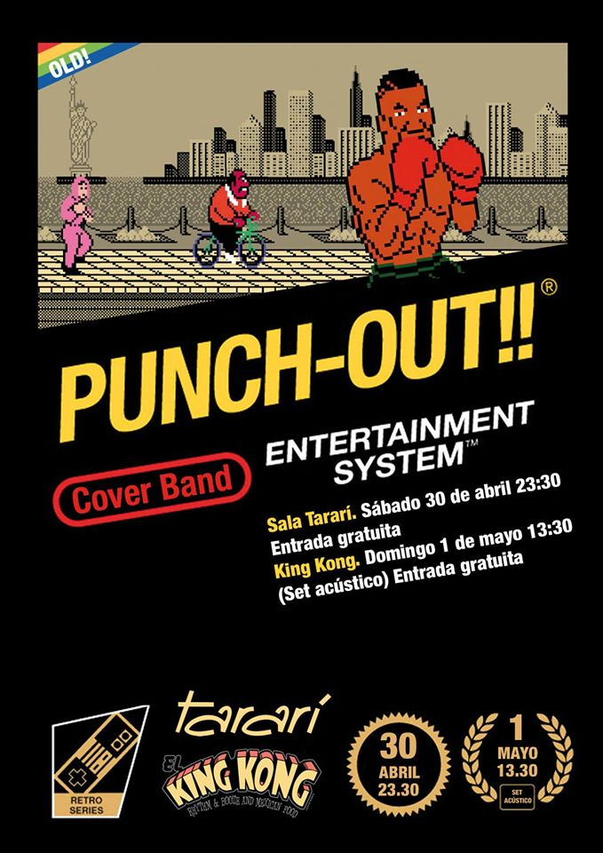 Punch Out, covers desde León 1