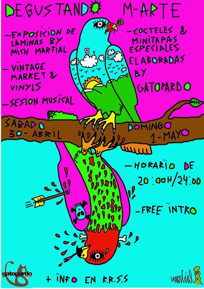 Degustando M-ARTE, gastronomía y arte se juntan en el Gatopardo este fin de semana 1
