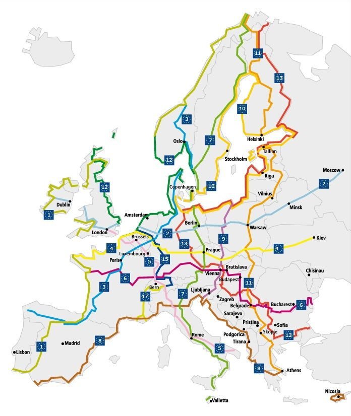 El Bierzo se unirá a Eurovelo, una red para bicicletas de 70.000 Km a través de Europa 1