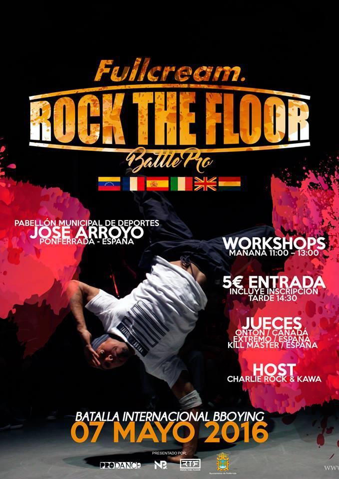 'Fullcream Rock the floor', el mejor breakdance del mundo se encontrará en Ponferrada el 7 de mayo 1