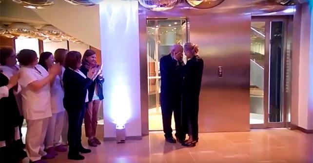 VÍDEO - El Flashmob que emocionó a Amancio Ortega en su 80 cumpleaños 1
