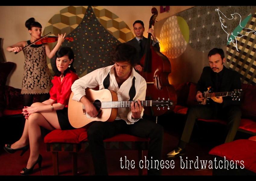 Los madrileños The Chinese Birdwatchers, traerán su directo en abril a Ponferrada 1
