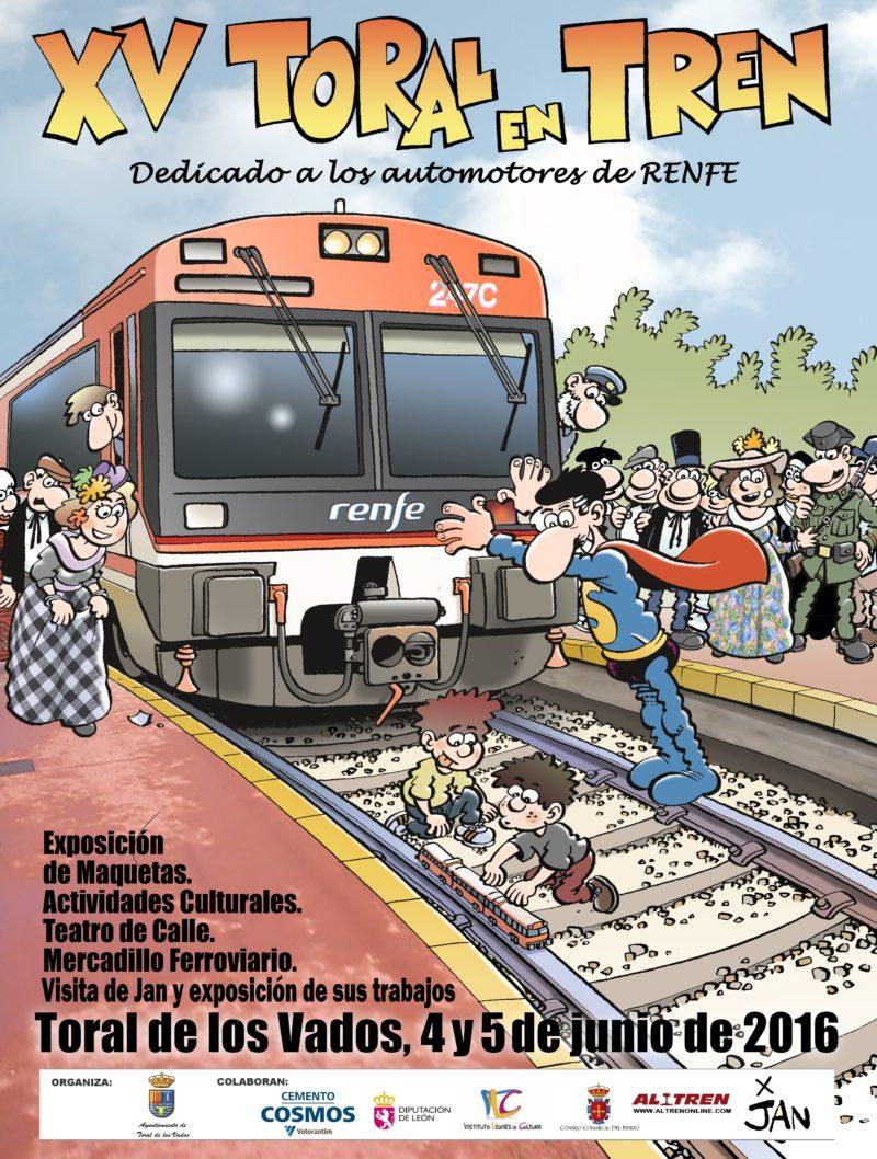 Programa de Toral en Tren 2016 1