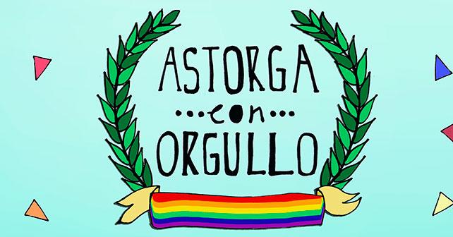 Astorga con Orgullo, la Asociación AWEN organiza el día del orgullo LGTBI. 25 y 26 de junio 1