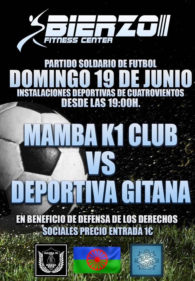 Partido Benéfico: Mamba K1 Club & Deportiva gitana 1