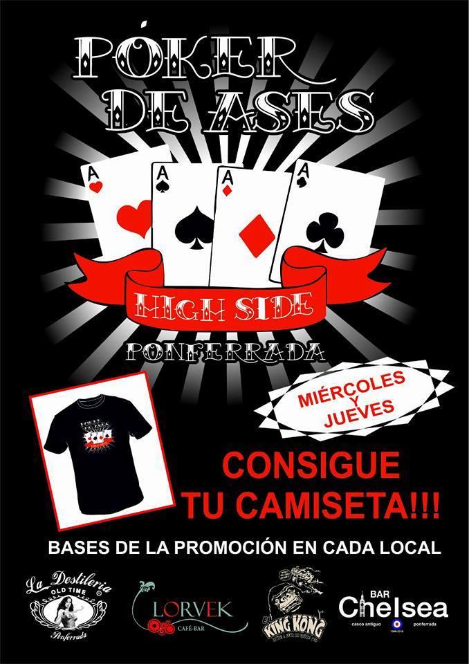 Póker de Ases, iniciativa cultural de 4 bares de la Zona Alta de Ponferrada 1